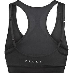 Falke Cross Back Bra Top Dame black